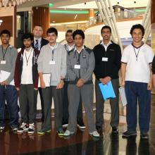 Dalma Mall hosts students of Emirates National School Abu Dhabi