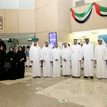 DEWA receives delegation from General Directorate of Residency & Foreigners Affairs - Sharjah