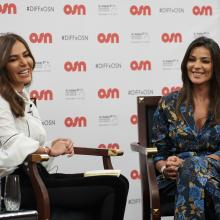 OSN Brought Lebanese Actress, Nadine Nassib Njeim, to Discuss her Career and the Development of Arabic Film and TV with Fans, During an Exclusive Session at the Dubai International Film Festival 2017.